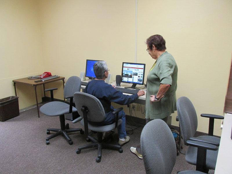 Computer Lab Available for Internet Access